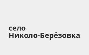 Справочная информация: Банкоматы Газпромбанка в селе Николо-Берёзовка — часы работы и адреса терминалов на карте